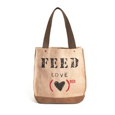 FEED (PRODUCT)RED Special Edition Love 30 Bag even better—your purchase can provide 30 days of ARV treatment to fight AIDS through the Global Fund, and 30 nutritious meals through the UN World Food Programme.