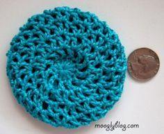 All Too Perfect Crocheted Bun Cover - free pattern on mooglyblog.com