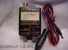 Power Meter for VHF Workman 104 SWR CB Radio UHF Ham