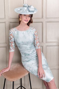 26423 - John Charles Simple Shift Dress With Waisted Jacket Mother Of Bride Outfits, Mother Of The Bride, High Fashion Dresses, Fashion Outfits, Women's Fashion, Warm Outfits, Dress Outfits, Dream Wedding Dresses, Bride Dresses