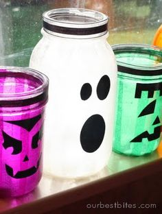 Mason Jar Lanterns.  Use battery-operated LED lights to light them up!  Make them for kid's rooms to coordinate with their colors or favorite cartoon or super-hero character.