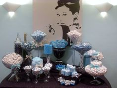 Eye Want Candy Creations, Custom Breakfast at Tiffanys Candy Buffet for Birthday Party
