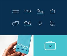 A sophisticated and unique airline brand identity developed by studio Alphabet for Extrajet. A new airline named 'Extrajet' will launch in 2017 with a Corporate Identity Design, Brand Identity Design, Branding Design, Logo Design, Graphic Design, Branding Ideas, Travel Agency Logo, Travel Logo, Airline Travel
