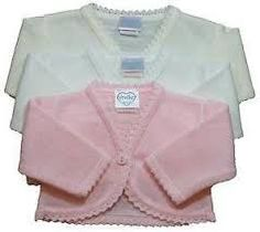 Image result for free knitting pattern for baby girl bolero