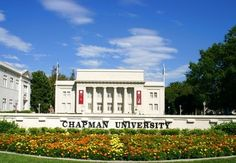 Chapman University in Orange, CA.  This is where I graduated college and had The Famisha La'Pree Show tv talk show!