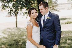 Outdoor Minnesota wedding couple.   Matt Lien Photography // Acowsay Cinema