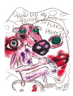Bjarne Melgaard - u. Outsider Art, The Darkest, Rooster, Fine Art, Hippy, Animals, Fictional Characters, Inspiration, Kunst