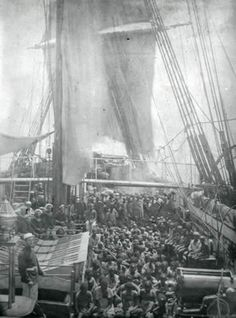 "Slave Ship. Amazing to see a real photo. So chilling. A part of history we are told to ""get over""."
