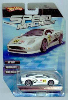 Hot Wheels Speed Machines Jaguar XJ220 WHITE 1:64 Scale by Mattel. $14.95. 1:64 Scale Die Cast Collector Car. Speed Machines