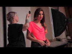 Behind the scenes with @JamieRidge23 and #dressforsuccess