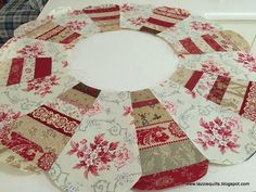 Tazzie Quilts: Just about a Dresden ...