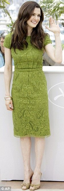 Rachel Weisz in Dior at the 2009 Cannes Film Festival