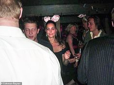 Kate even dressed up with Bunny ears during a night out at Kitts in Sloan Square...