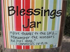 Lu Bird Baby: Blessings Jar