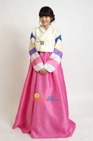 Image result for model baju hanbok modern