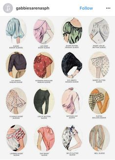 Very handy guide to vintage style sleeves in womens clothing. Vintage fashion s Vintage Outfits clothing Fashion Guide handy Sleeves Style vintage womens Fur Vintage, Looks Vintage, Vintage Woman, Vintage Winter, Vintage Models, Vintage Outfits, Vintage Dresses, Fashion Vintage, 1950s Fashion