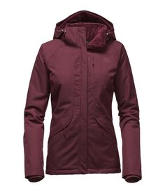 WOMEN'S INLUX INSULATED JACKET North Face Coat, North Face Jacket, The North Face, Raincoats For Women, Jackets For Women, Work Jackets, Winter Coats Women, Winter Jackets, Vest Jacket