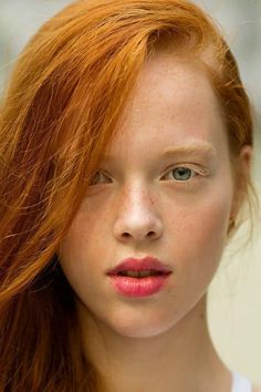 456b24425e Fashion Portrait Daria from Russia Redhead Girl