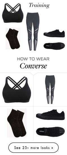 """""""Clara Heronstorm 2"""" by julihaledesigns on Polyvore featuring Alo, mp Denmark and Converse"""