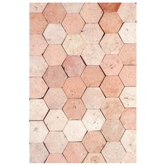 Shop antique and modern flooring and other building and garden elements from the world's best furniture dealers. Terracota, Terracotta Floor, Modern Flooring, Hexagon Shape, Light Orange, French Antiques, 18th Century, Decoration, Tile Floor