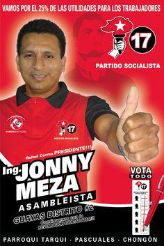 Ing Jonny Meza Asambleista