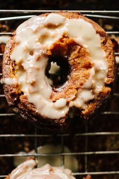 Creme Fraiche Doughnuts with Salted Browned Butter Glaze - from Not Without Salt #recipe
