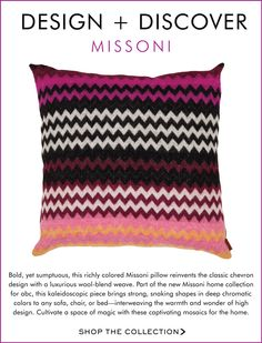design + discover: missoni - roseg513@gmail.com - Gmail