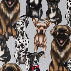 Wild At Heart 'Cutsie Canines' Wallpaper