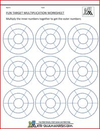 Math on Pinterest | Multiplication, Math and Multiplication Worksheets
