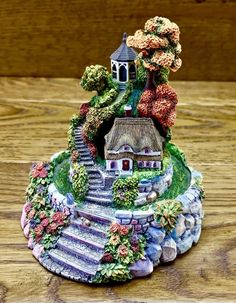 Dome ornament Violet Schwenig Franklin Mint autumn splendor cottage Hand Painted Franklin Mint, Fairy Doors, My Ebay, Cottage, Houses, Hand Painted, Autumn, Christmas Ornaments, Holiday Decor