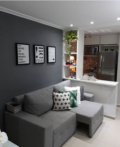 Latest Living Room Colors Ideas for Trendy Home Decor Small Room Bedroom, Trendy Home Decor, Living Room Colors, Bedroom Design, Interior Design Bedroom, Living Decor, Home Decor, Apartment Decor, Home Deco