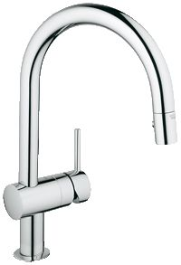 "Minta Single lever sink mixer 1/2"" 31378000pullout spray $489 http://www.grohe.com/us/6408/kitchen/kitchen-faucets/minta/product-details/?product=31378-G082&color=000&material=31378DC0"