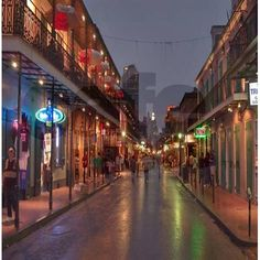 Wow!  What a great New Orleans backdrop. And it's a FABRIC CURTAIN PANEL!!! Bourbon Street Shower Curtain by shirtflirtz $58 on cafepress.com. Mardi Gras Halloween Voodoo Masquerade Ball