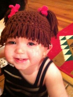 Cabbage patch hat.
