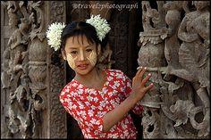Girl. Burma.