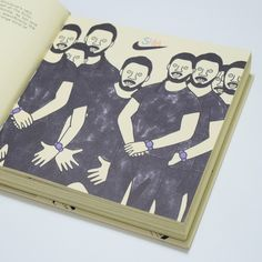 Shia LaBeouf — Gangster Doodles book    https://www.booooooom.com/2018/01/10/gangster-doodles-book/