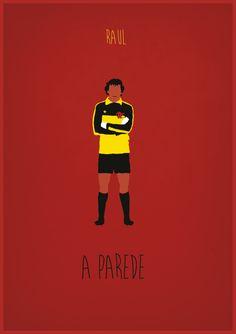Pôsteres minimalistas relembram o Flamengo de 81