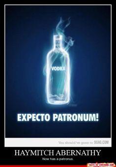 Haymitch's patronus haha