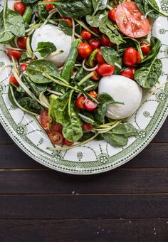Late Summer Mozzarella And Zucchini Salad - Cook Republic