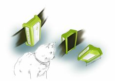Draft of pet collar for locca Gps Tracking, Pet Collars, Evolution, Enamel, Pets, Accessories, Design, Animals And Pets, Enamels