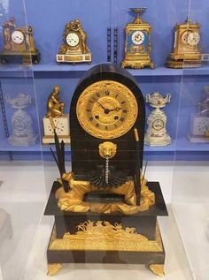 Window Shopping at the Anti-IKEA: Our Top Finds at Italy's Mercanteinfiera French Clock, Classic Clocks, Telling Time, Your Favorite, Ikea, Windows, History, Antiques, Ebay