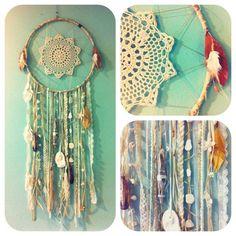 Sea Dreamer Mermaid Dream Catcher. I want to make this!!