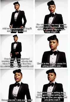 Janelle Monae is brave and brilliant.