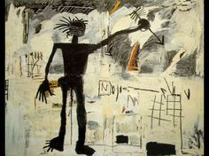 """Basquiat-self-portrait. """"I don't listen to what art critics say. I don't know anybody who needs a critic to find out what art is."""""""
