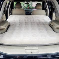FUWAY SUV Inflatable Bed Outdoor Camping Mattress Travel Air Bed: Amazon.co.uk: Kitchen & Home
