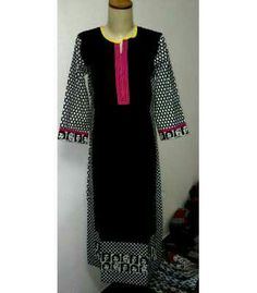 "46"" long cotton kurta in s.m.l.xl sizes"