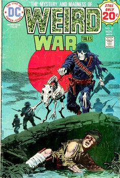 Hunted By The Living Dead - Weird War Tales #31