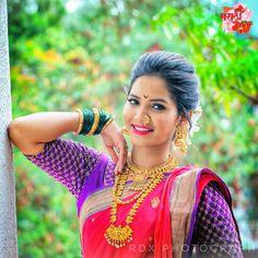 Fantastic Wedding Advice You Will Want To Share Dehati Girl Photo, Girl Photo Poses, Photo Shoot, Saree Photoshoot, Bridal Photoshoot, Beautiful Girl Indian, Beautiful Indian Actress, Marathi Wedding, Marathi Bride