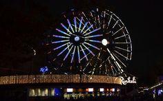 Light Carnival at Linnanmäki amusement park in October. Photo Päivi Romo