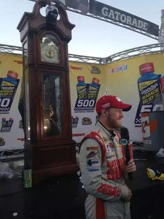 Dale jr wins at Martinsville Speedway Nascar Martinsville, Danica Patrick, Headache Relief, Dale Earnhardt Jr, Grandfather Clock, To My Future Husband, Racing, Amy, Room